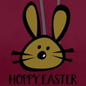 FROHE OSTERN T-Shirts - Kontrast-Hoodie