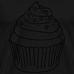 Cupcake Long Sleeve Shirts - Men's Premium T-Shirt