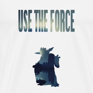 USE THE FORCE - Männer Premium T-Shirt