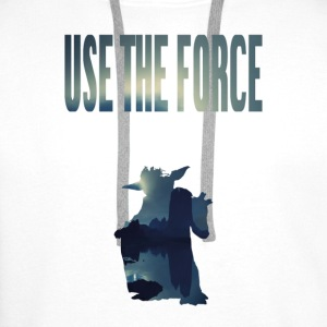 USE THE FORCE - Männer Premium Hoodie