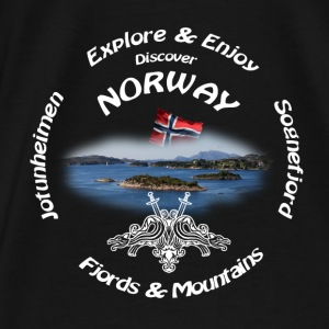 Norway shirt White - Männer Premium T-Shirt