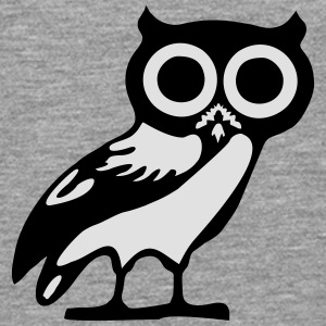 Owl - hibou Tee shirts - T-shirt manches longues Premium Homme