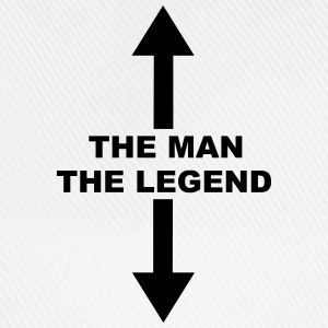 The Man The Legend Mugs & Drinkware - Baseball Cap