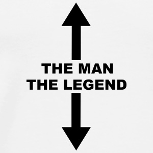 The Man The Legend Mugs & Drinkware - Men's Premium T-Shirt