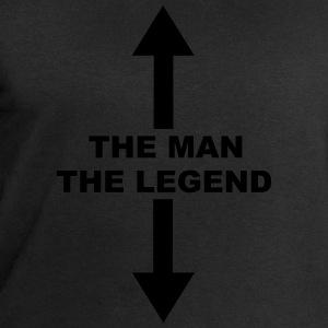 The Man The Legend T-Shirts - Men's Sweatshirt by Stanley & Stella