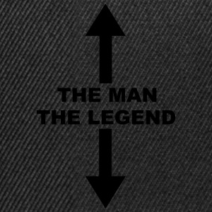 The Man The Legend T-Shirts - Snapback Cap