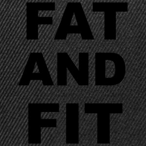 Fat and FIt T-Shirts - Snapback Cap