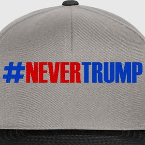 Anti Trump #nevertrump - Snapback Cap