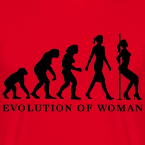 evolution_of_woman_striptease_052016_a_1 Schürzen - Männer T-Shirt