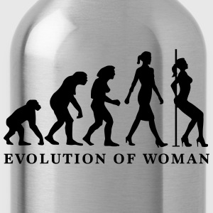 evolution_of_woman_striptease_052016_a_1 T-Shirts - Trinkflasche