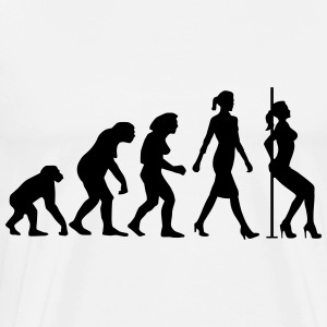 evolution_of_woman_striptease_052016_b_1 Schürzen - Männer Premium T-Shirt