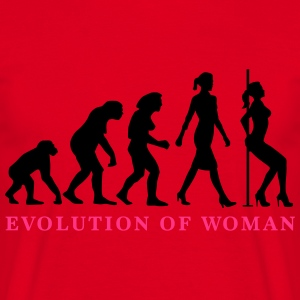 evolution_of_woman_striptease_052016_a_2 Schürzen - Männer T-Shirt
