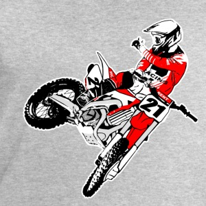 Moto Cross - MX - Supercross T-Shirts - Men's Sweatshirt by Stanley & Stella