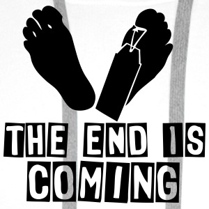 the end is coming foot das ende kommt T-Shirts - Männer Premium Hoodie