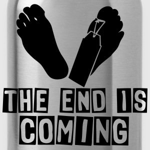 the end is coming foot das ende kommt Tops - Trinkflasche