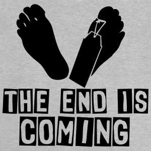 the end is coming foot das ende kommt T-Shirts - Baby T-Shirt
