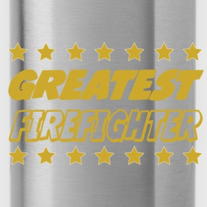 Greatest firefighter Tee shirts - Gourde