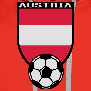 Austria football fan shirt 2016 T-Shirts - Men's Premium Hoodie