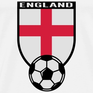 England Fussball Fan Shirt 2016 Babybody - Premium T-skjorte for menn