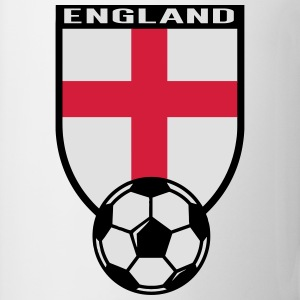 England Fussball Fan Shirt 2016 Magliette - Tazza