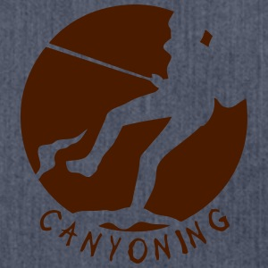 canyoning erinnerung seil 4 logo T-Shirts - Schultertasche aus Recycling-Material