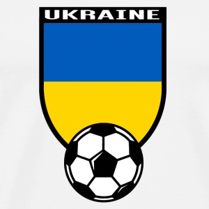 Ukraine football fan shirt 2016 Bags & Backpacks - Men's Premium T-Shirt