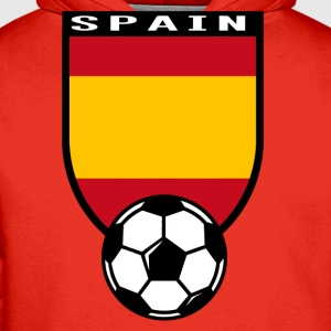 Spain football fan shirt 2016 T-Shirts - Men's Premium Hoodie