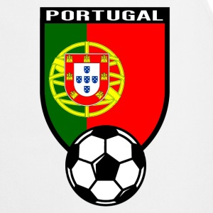 Portugal fan voetbalshirt 2016 T-shirts - Keukenschort