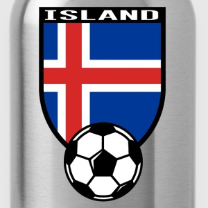 Island Fussball Fan Shirt 2016 Magliette - Borraccia