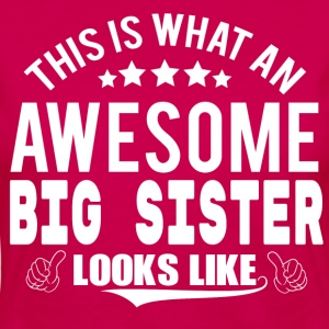THIS IS WHAT AN AWESOME BIG SISTER LOOKS LIKE T-Shirts - Women's Premium Longsleeve Shirt