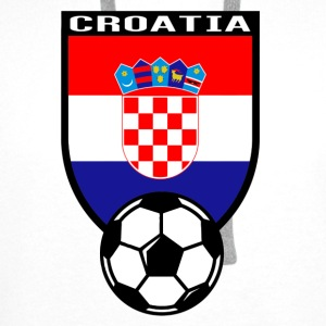 Croatia football fan shirt 2016 Baby Bodysuits - Men's Premium Hoodie