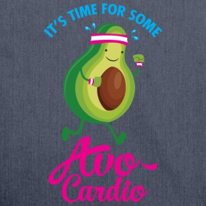 It's Time For Some Avo Cardio T-Shirts - Schultertasche aus Recycling-Material