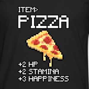 pizza T-Shirts - Men's Premium Longsleeve Shirt