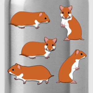 Goldhamster Auswahl T-Shirts - Trinkflasche