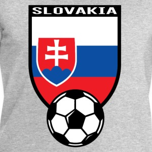 Football fan shirt Slovakia 2016 T-Shirts - Men's Sweatshirt by Stanley & Stella