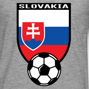 Football fan shirt Slovakia 2016 T-Shirts - Men's Premium Longsleeve Shirt