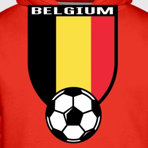 Belgium football fan shirt 2016 T-Shirts - Men's Premium Hoodie