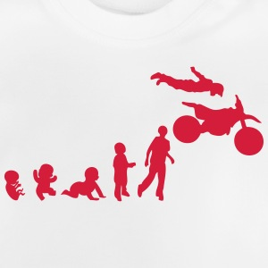 evolution motorrad 12 freestyle motocros T-Shirts - Baby T-Shirt