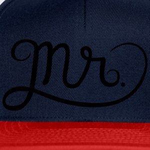 Mr. (Mister) Tee shirts - Casquette snapback