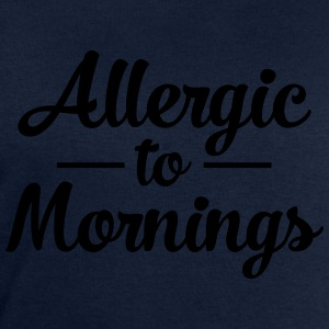 Allergic To Mornings Camisetas - Sudadera hombre de Stanley & Stella