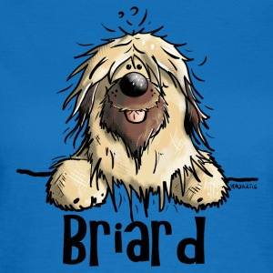 Funny Briard Bags & Backpacks - Women's T-Shirt