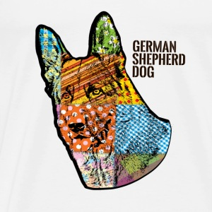 GSD Headshot - Men's Premium T-Shirt