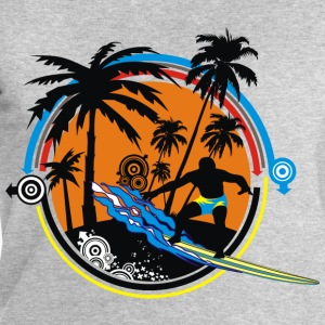 Surfing The Waves - Men's Sweatshirt by Stanley & Stella