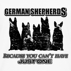 German Shepherds - Because you can't have just one - Men's Premium Longsleeve Shirt
