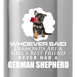 GSD - better then diamonds - Water Bottle