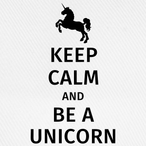 keep calm and be a unicorn Muggar & tillbehör - Basebollkeps