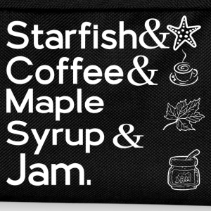 STARFISH & COFFEE & MAPLE SYRUP & JAM T-Shirts - Kids' Backpack