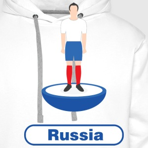Russia football - Men's Premium Hoodie