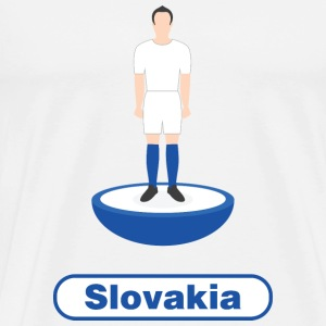 Slovakia football - Men's Premium T-Shirt