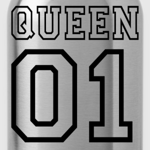 PARTNERSHIRT - QUEEN 01 T-Shirts - Water Bottle